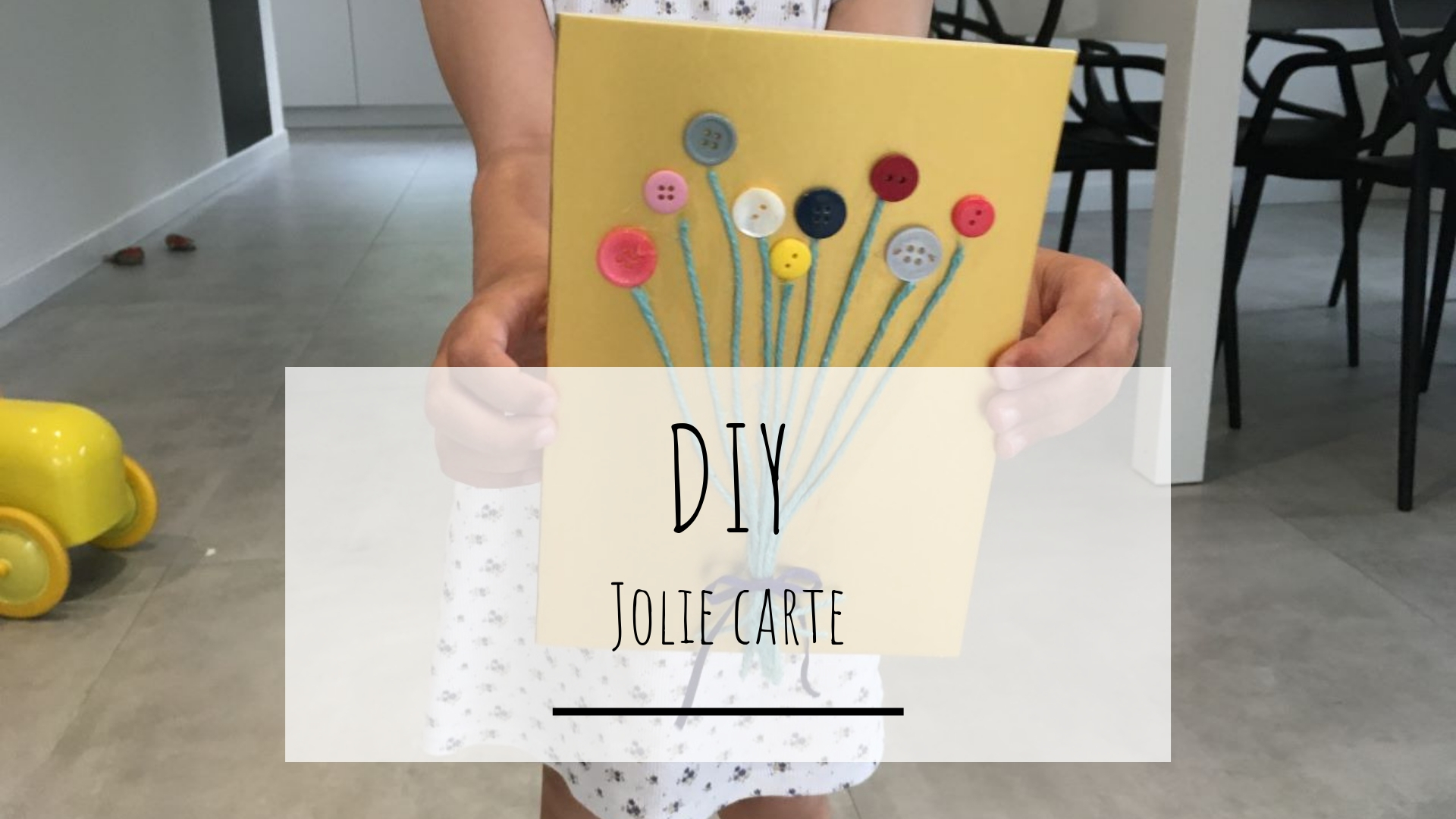 DIY jolie carte