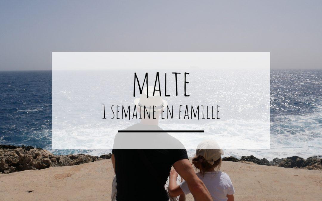 Une semaine de vacances à Malte en famille à découvrir sur https://lespetitsdromois.com