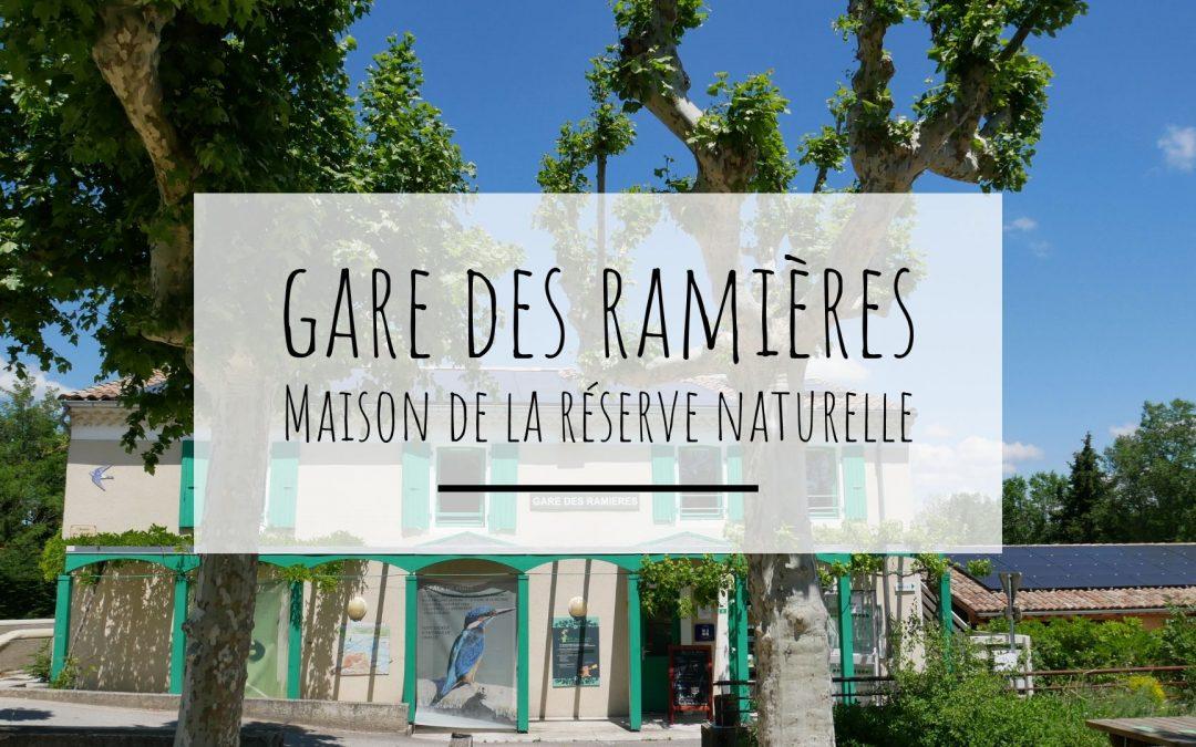 Gare des Ramières, réserve naturelle à Allex dans la Drôme