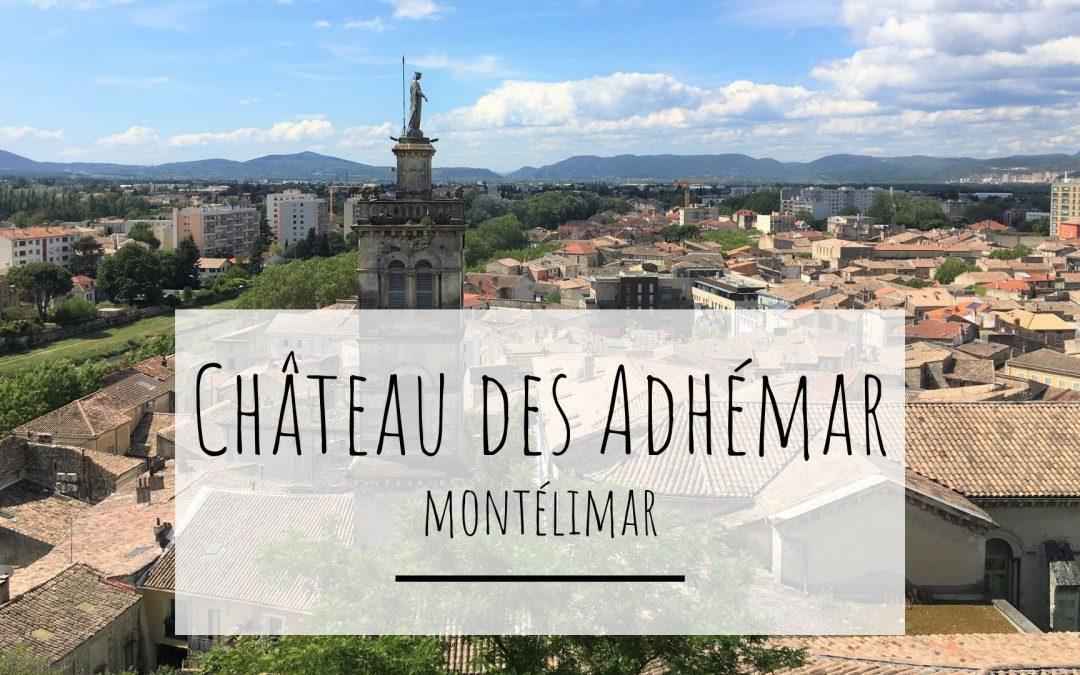 Sortie avec enfant : château des Adhémar. Vue depuis le chemin de ronde