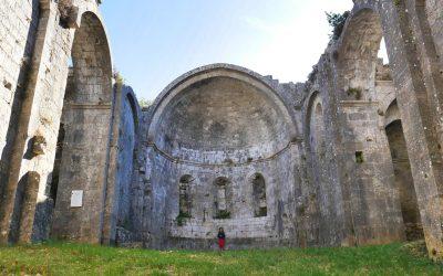 Balade automnale au prieuré d'Aleyrac