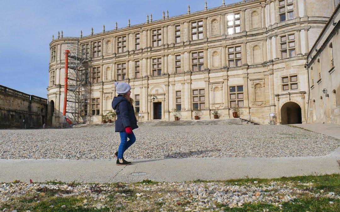 Balade en famille drome, château de Grignan