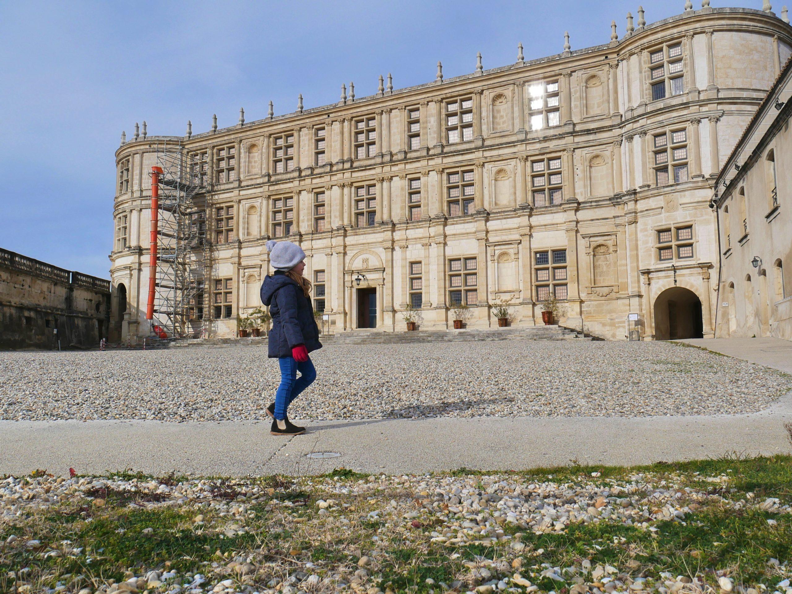 Château de Grignan, visite en famille