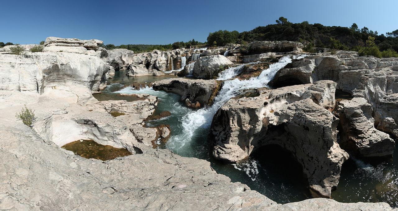 Lieux à découvrir autour de Montélimar : les cascades du Sautadet