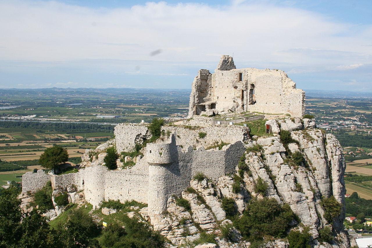 Lieux à découvrir autour de Montélimar : le château de Crussol