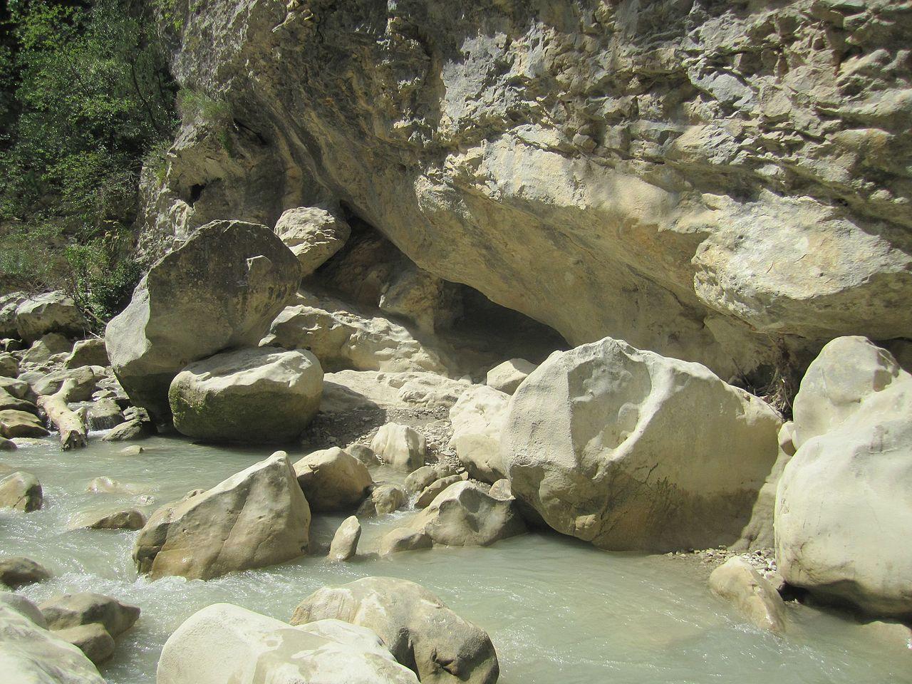 Lieux à découvrir autour de Montélimar : les gorges du Toulourenc
