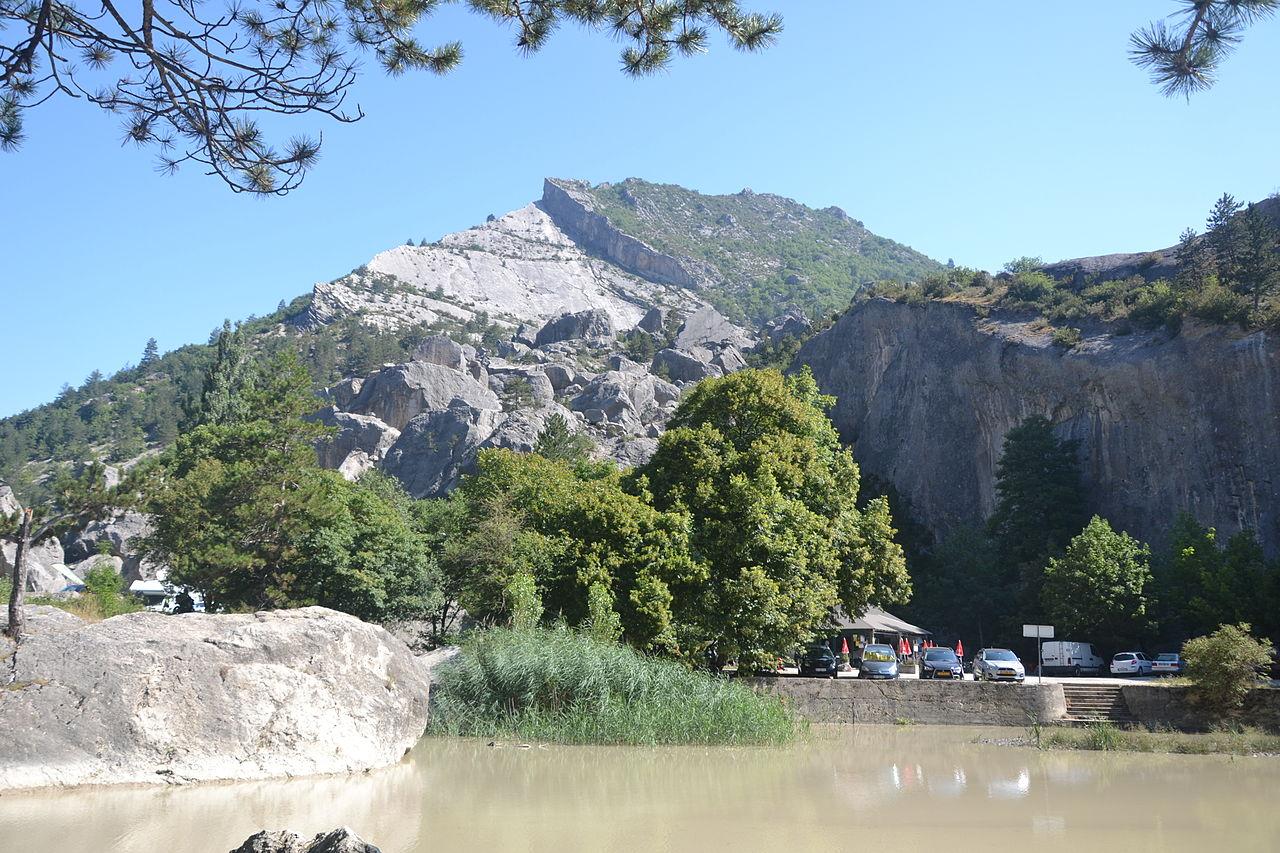 Lieux à découvrir autour de Montélimar : le claps de Luc-en-Diois