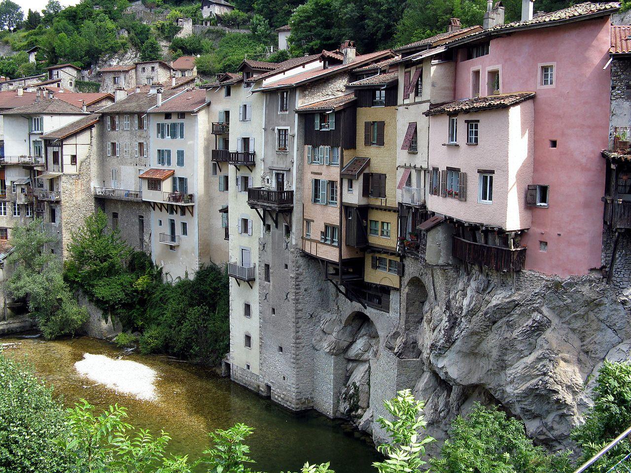 Lieux à découvrir autour de Montélimar : le village de Pont-en-Royans