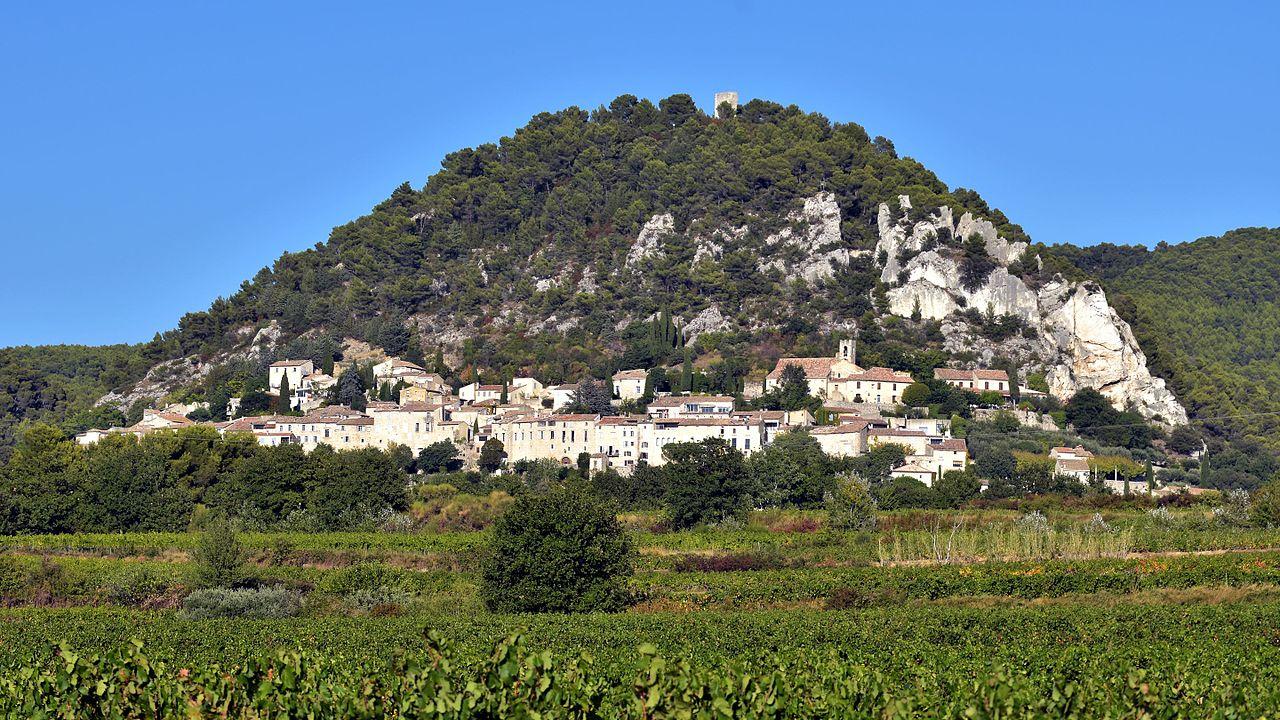 Lieux à découvrir autour de Montélimar : le village de Séguret