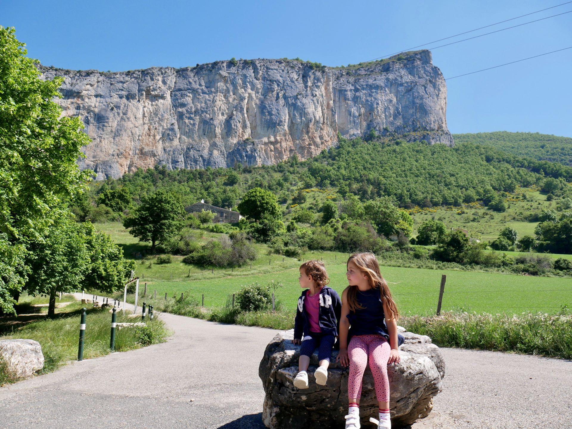 Balade drome : les gorges d'Omblèze et la chute de la druise