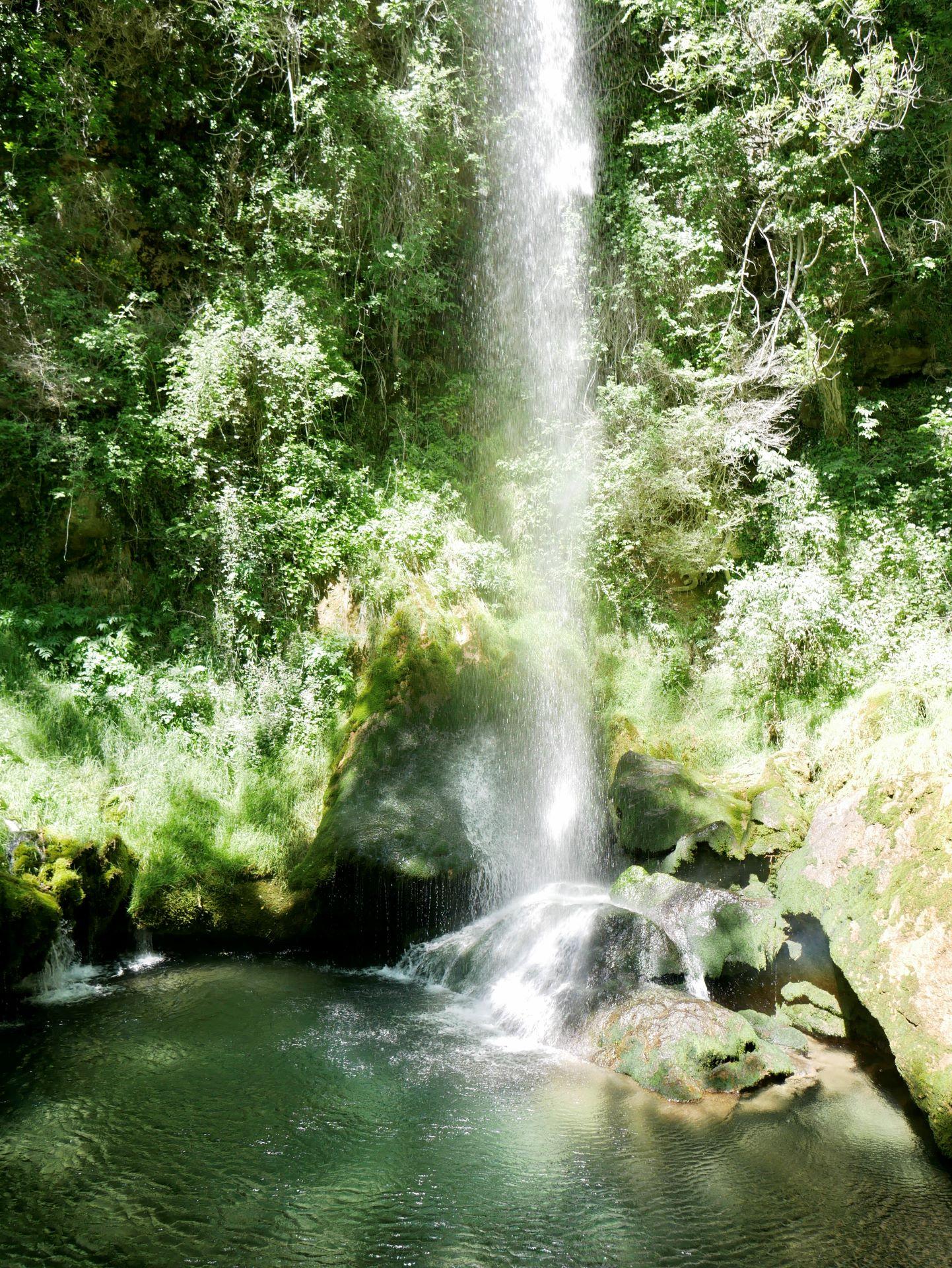 Balade drome : chute de la pissoire