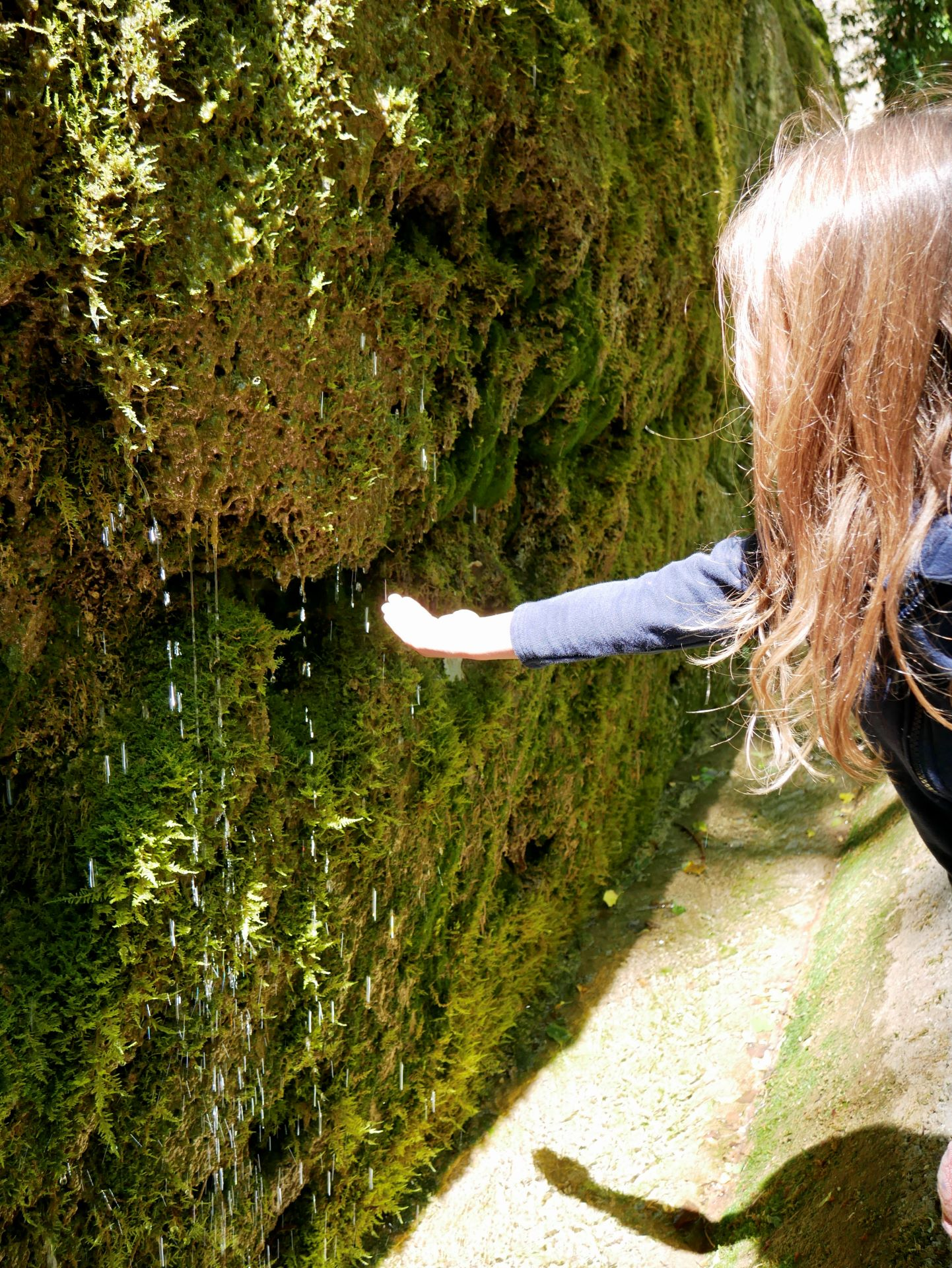 Balade drome : gouttes d'eau