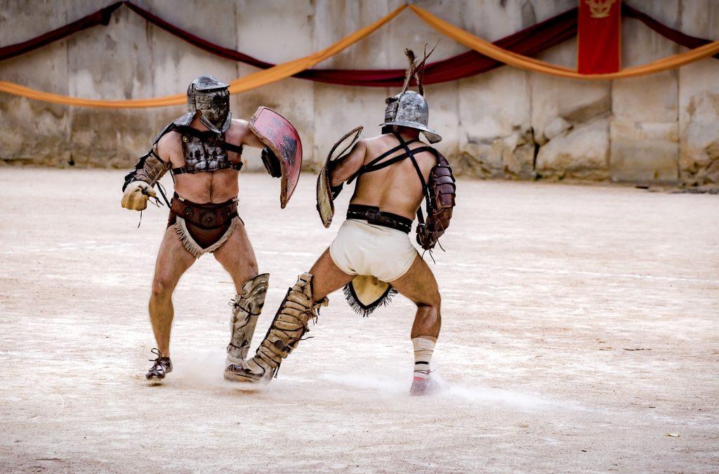 Les grands jeux romains à Nîmes les 23, 24 et 25 octobre 2020
