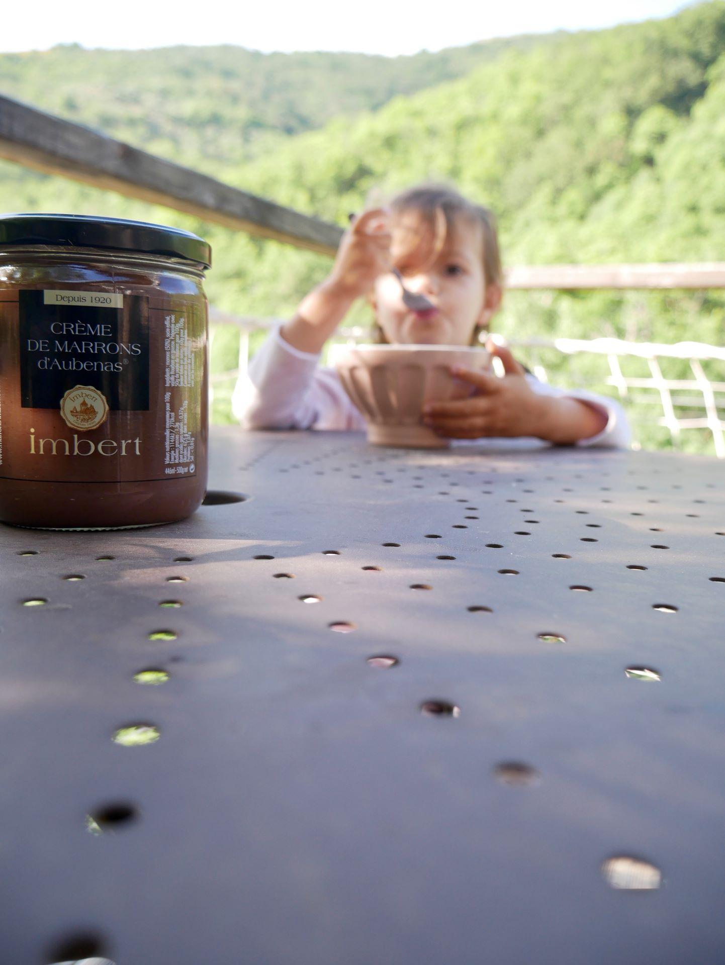 week end ardeche. Crème de marrons d'Aubenas