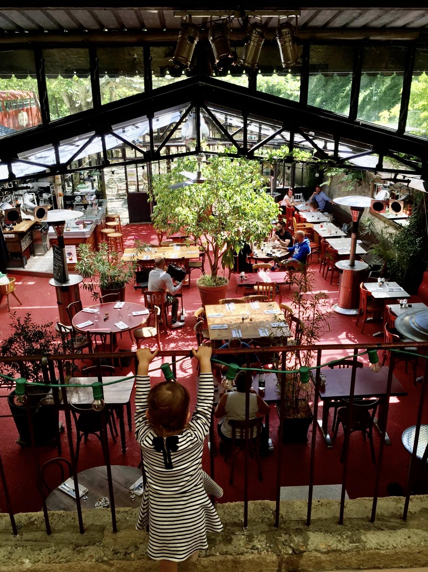 Restaurant La fontaine minérale à Pont-de-Barret