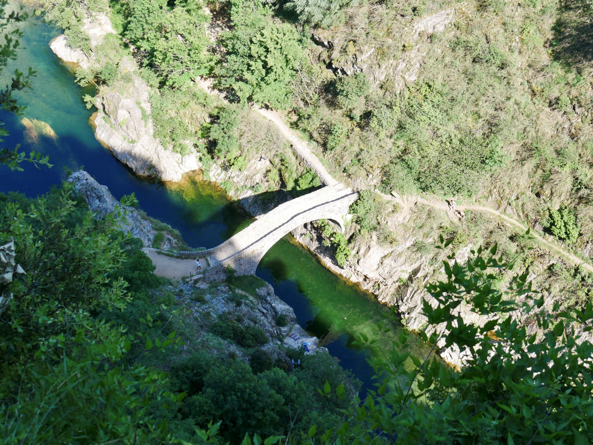 Pont du diable à Thueyts en Ardèche