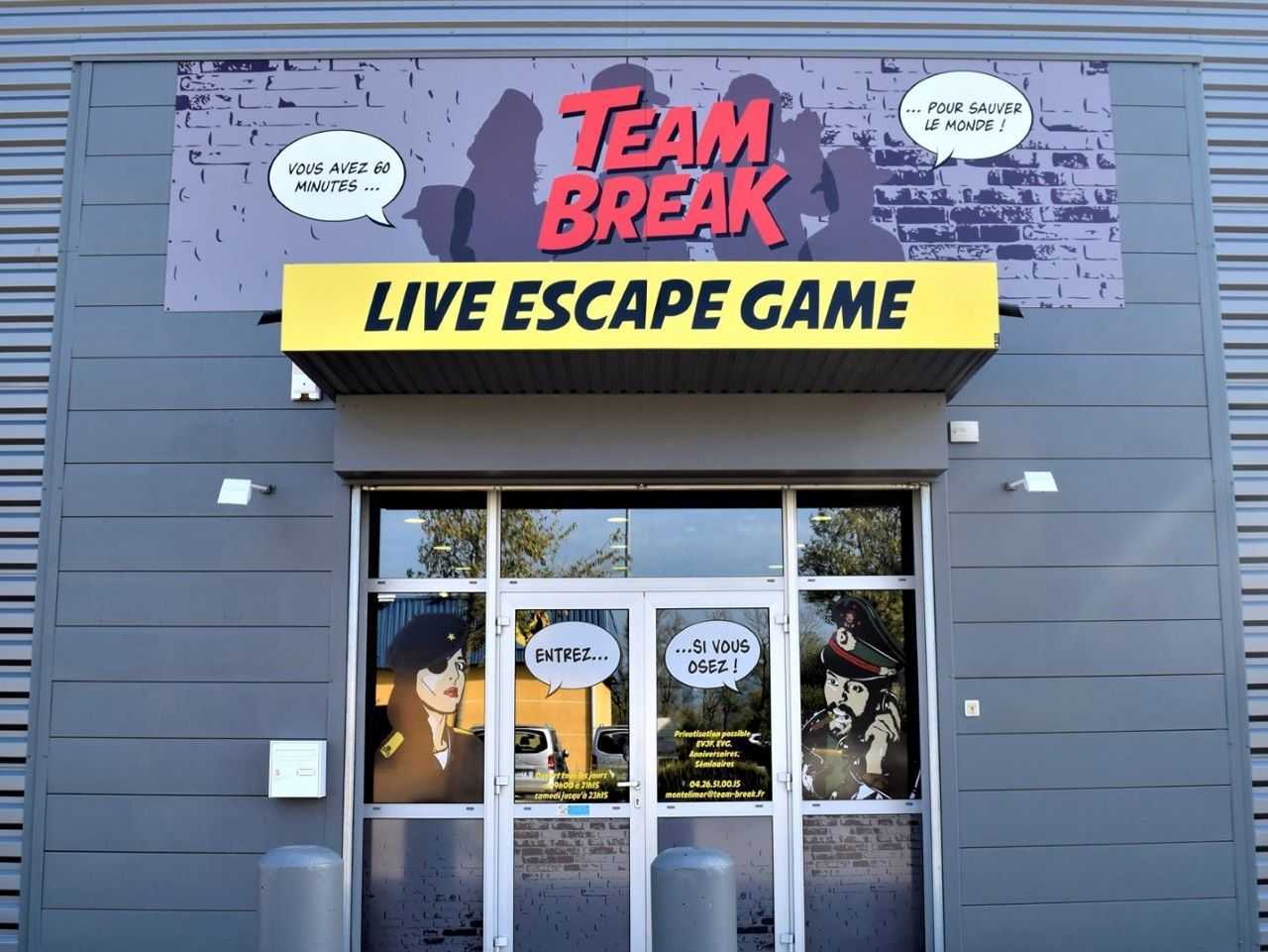 Team break, escape game à Montélimar