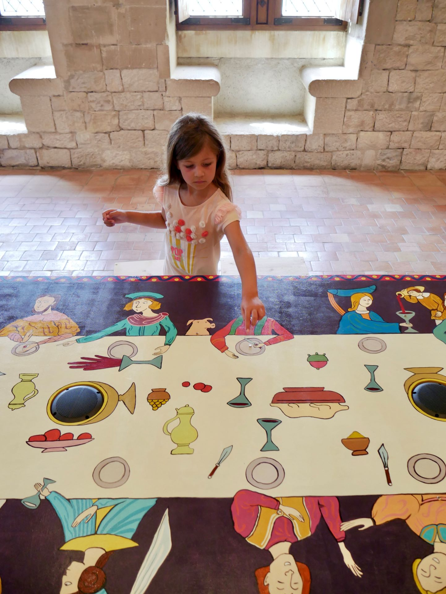 Sortie en famille dans la Drôme : nouvelle expo 2020 château de Montélimar