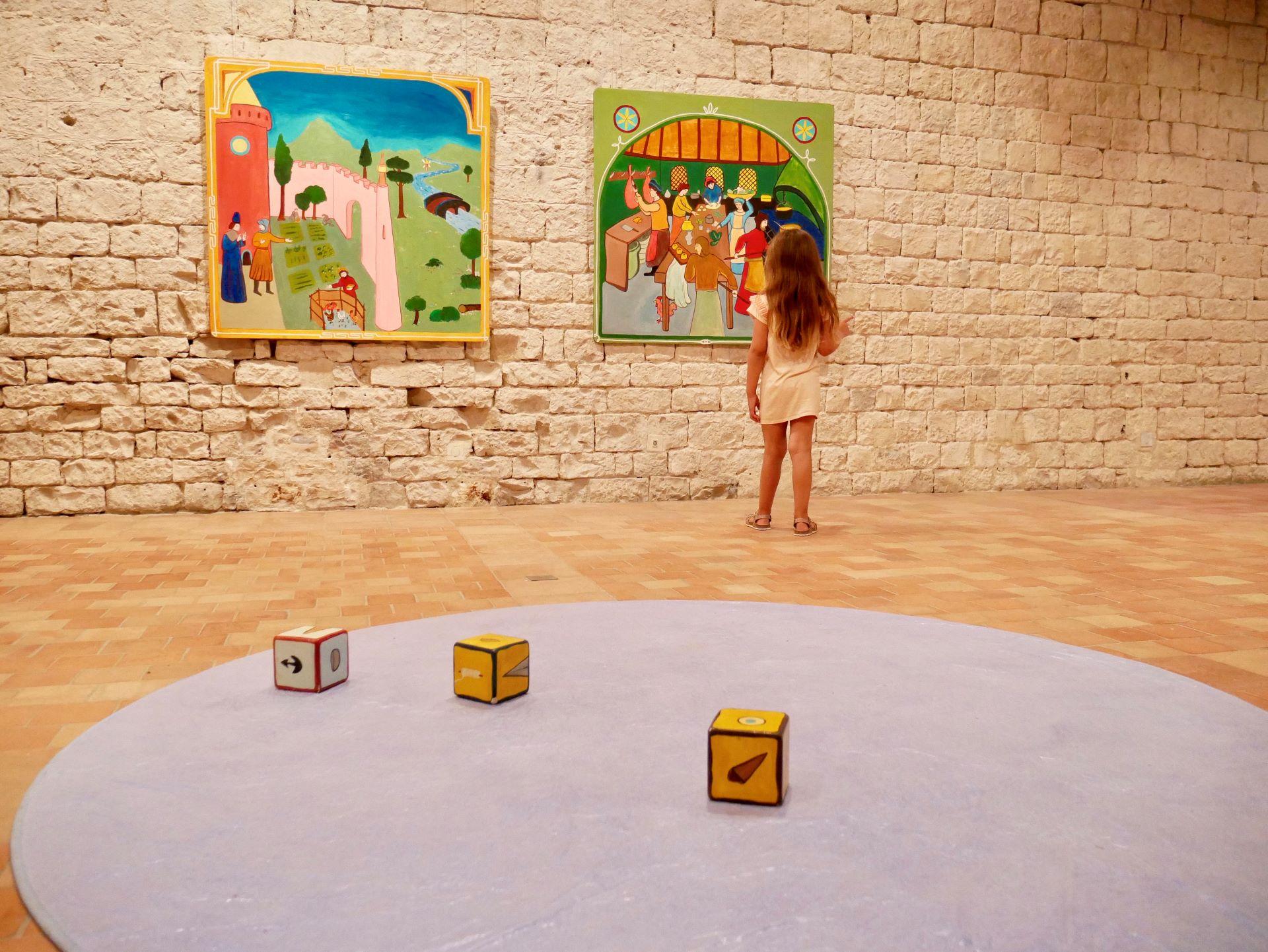 Sortie en famille dans la Drôme : expo chatolabo 2020 château Montélimar