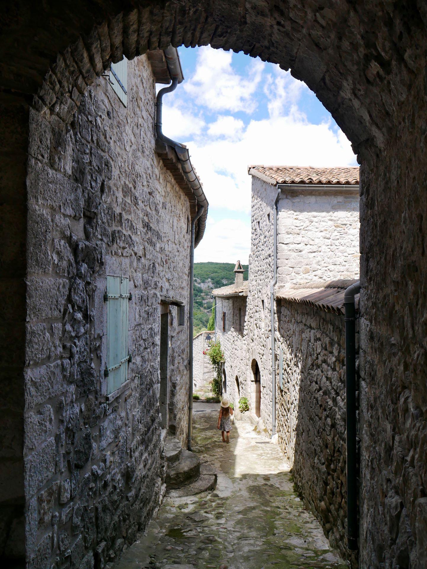 balade en Ardèche : Balazuc, balade dans les ruelles