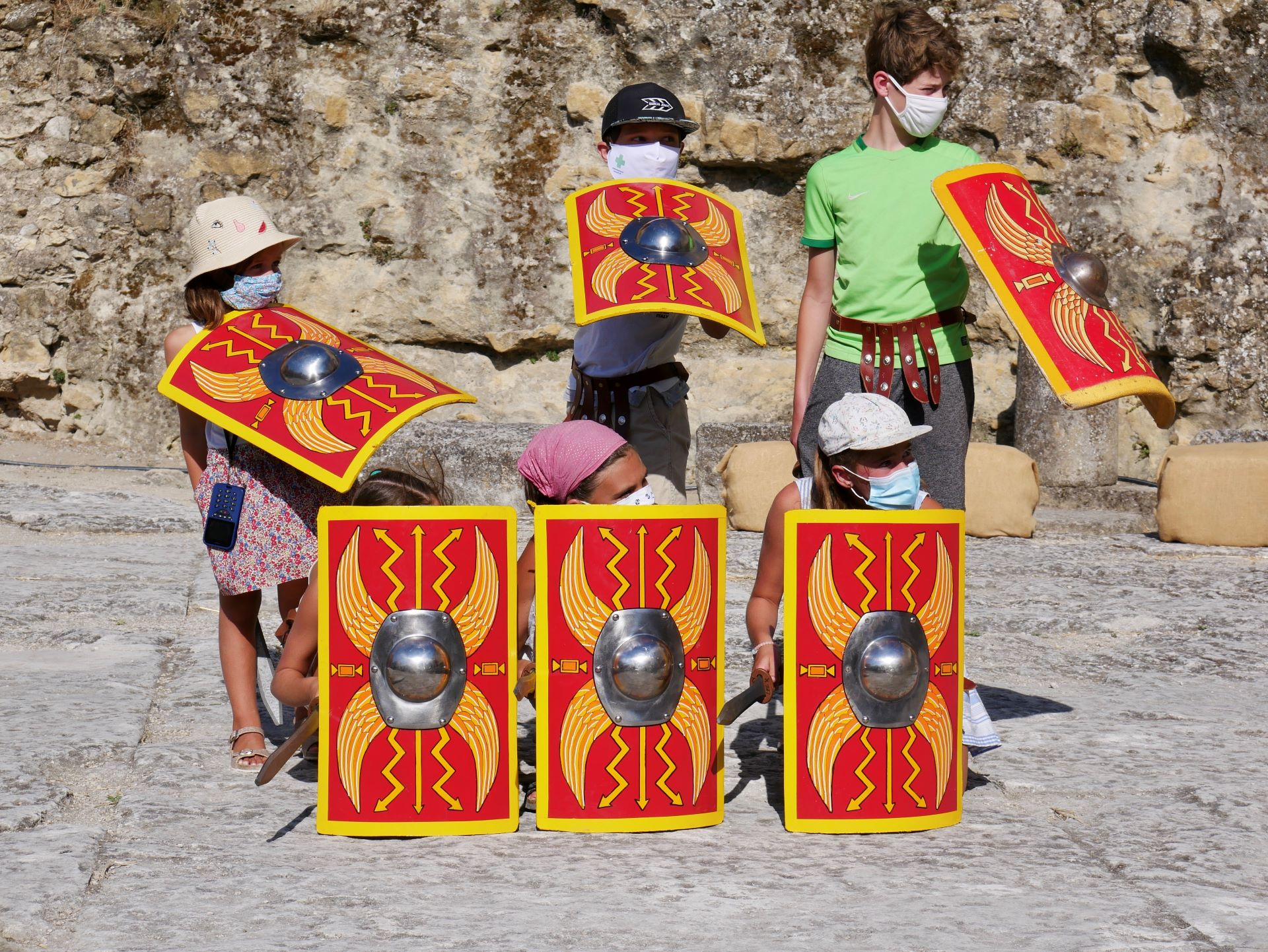 Les légionnaires du théâtre antique d'Orange