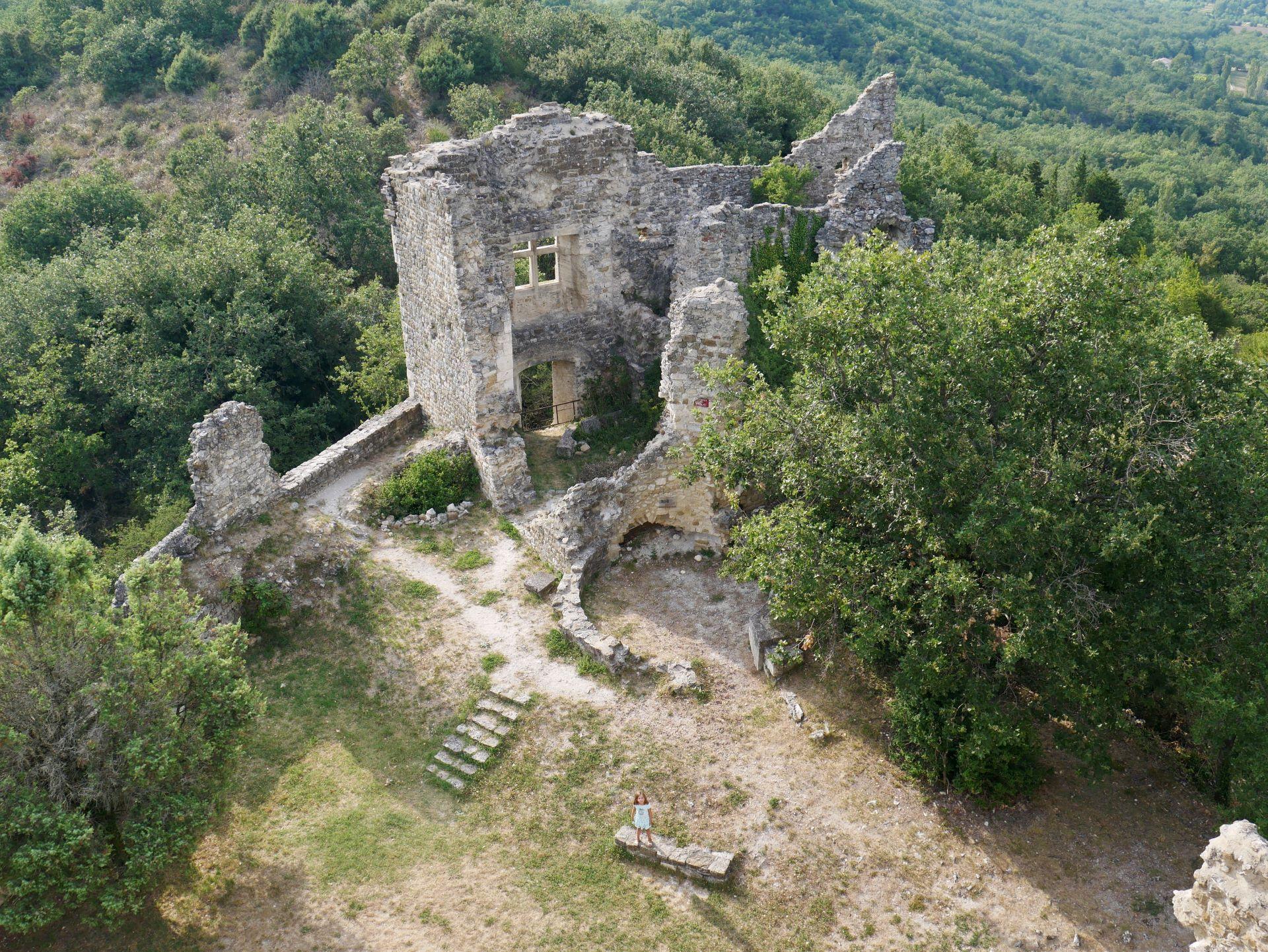 Château de Rochefort-en-Valdaine dans la Drôme
