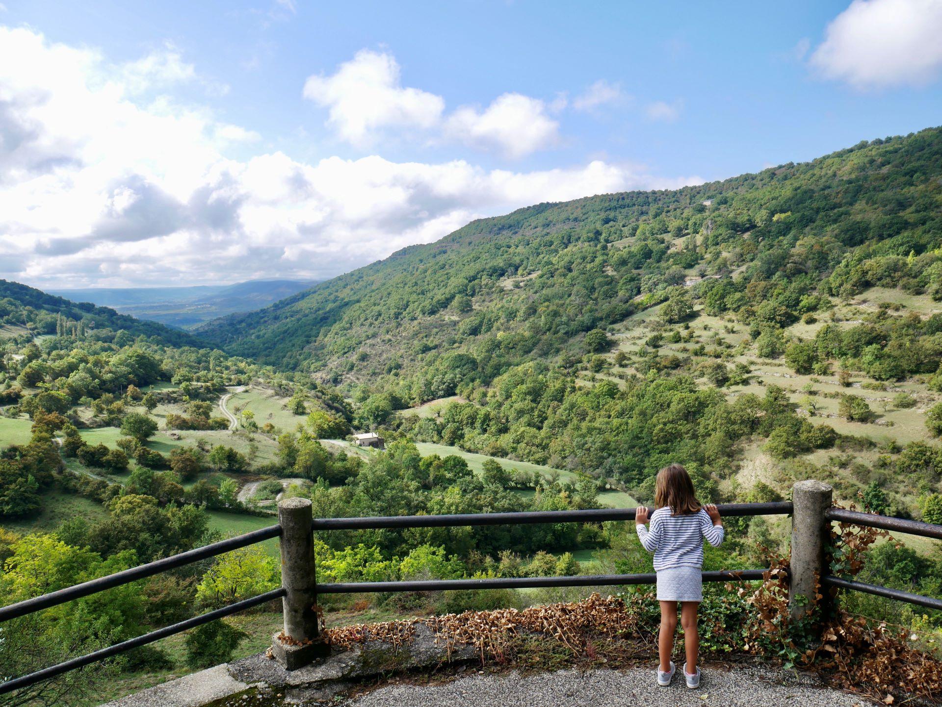 Panorama depuis le village de Sceautres