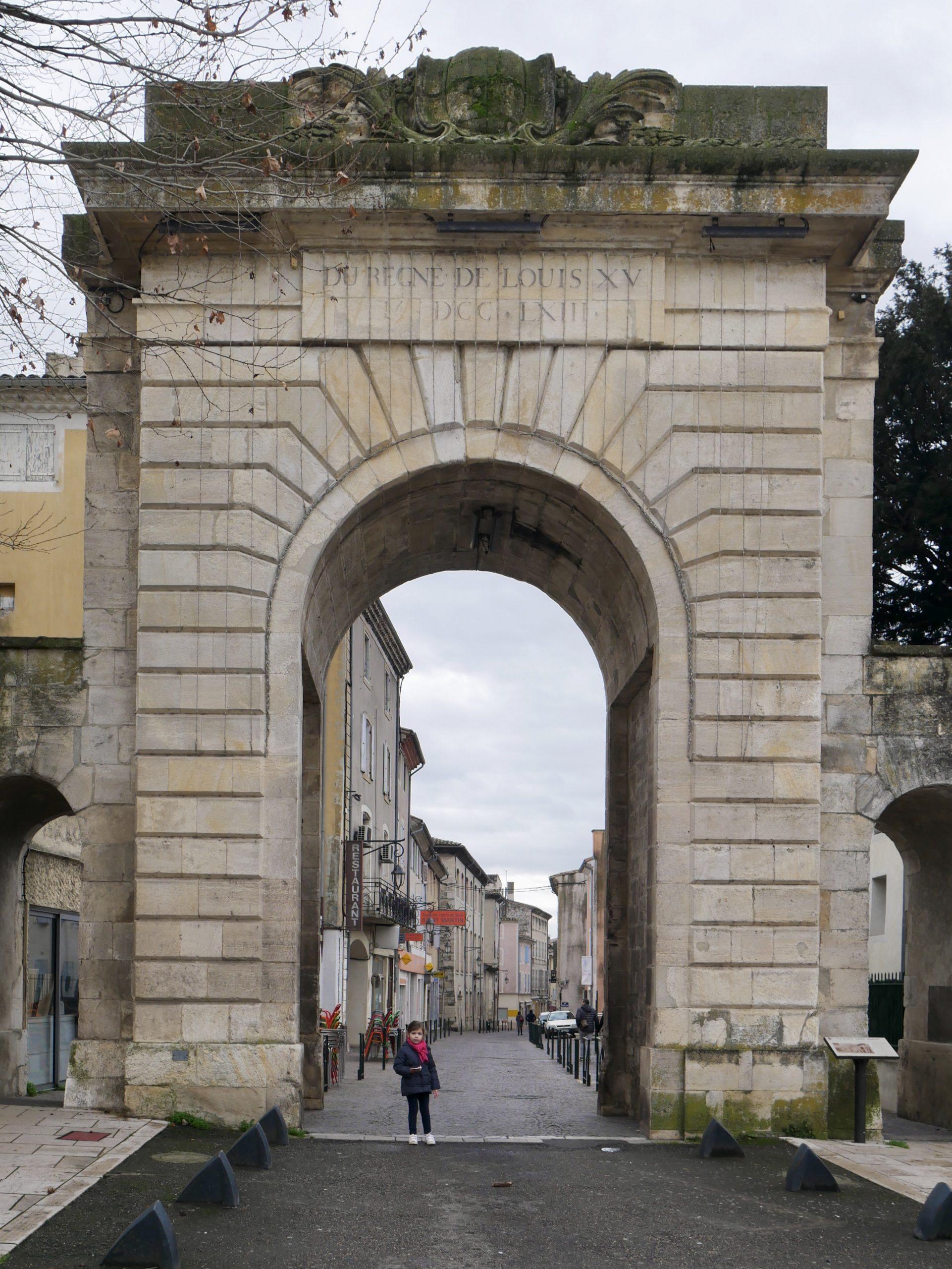 Porte Saint Martin à Montélimar