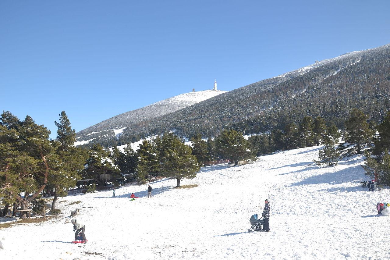 Mont Serein, station de ski au Mont Ventoux