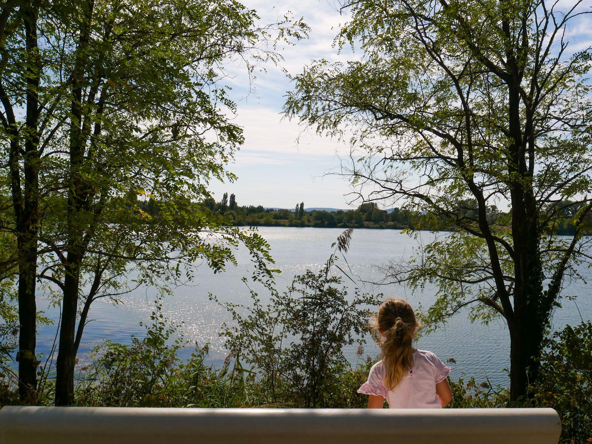Randonnée autour de Montélimar : lac de Montmeillan 2,8km