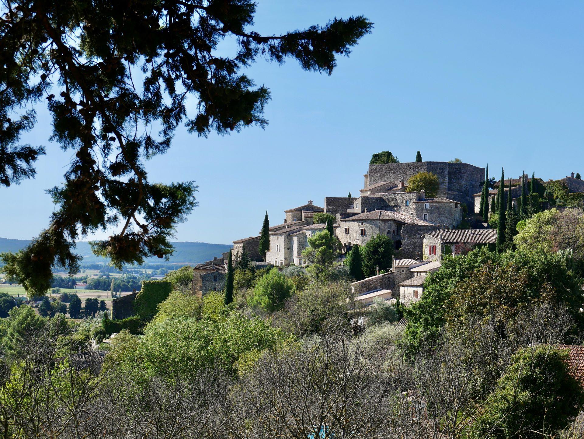 Randonnée autour de Montélimar : La Laupie 2,5km