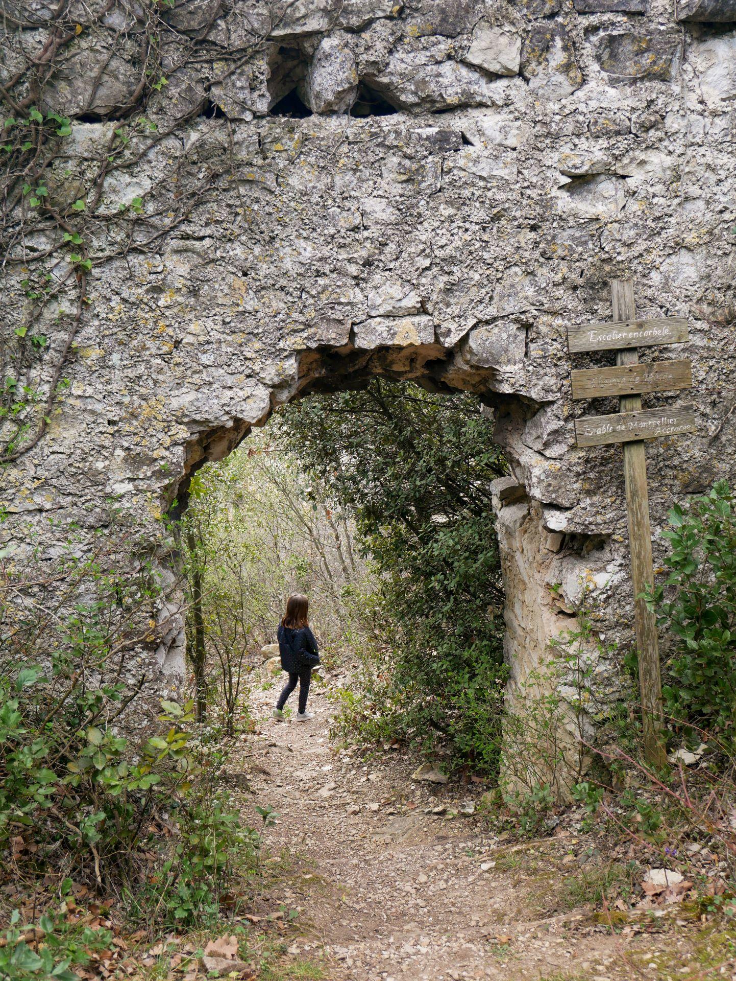 Randonnée autour de Montélimar : tour des remparts de Savasse 1,8km