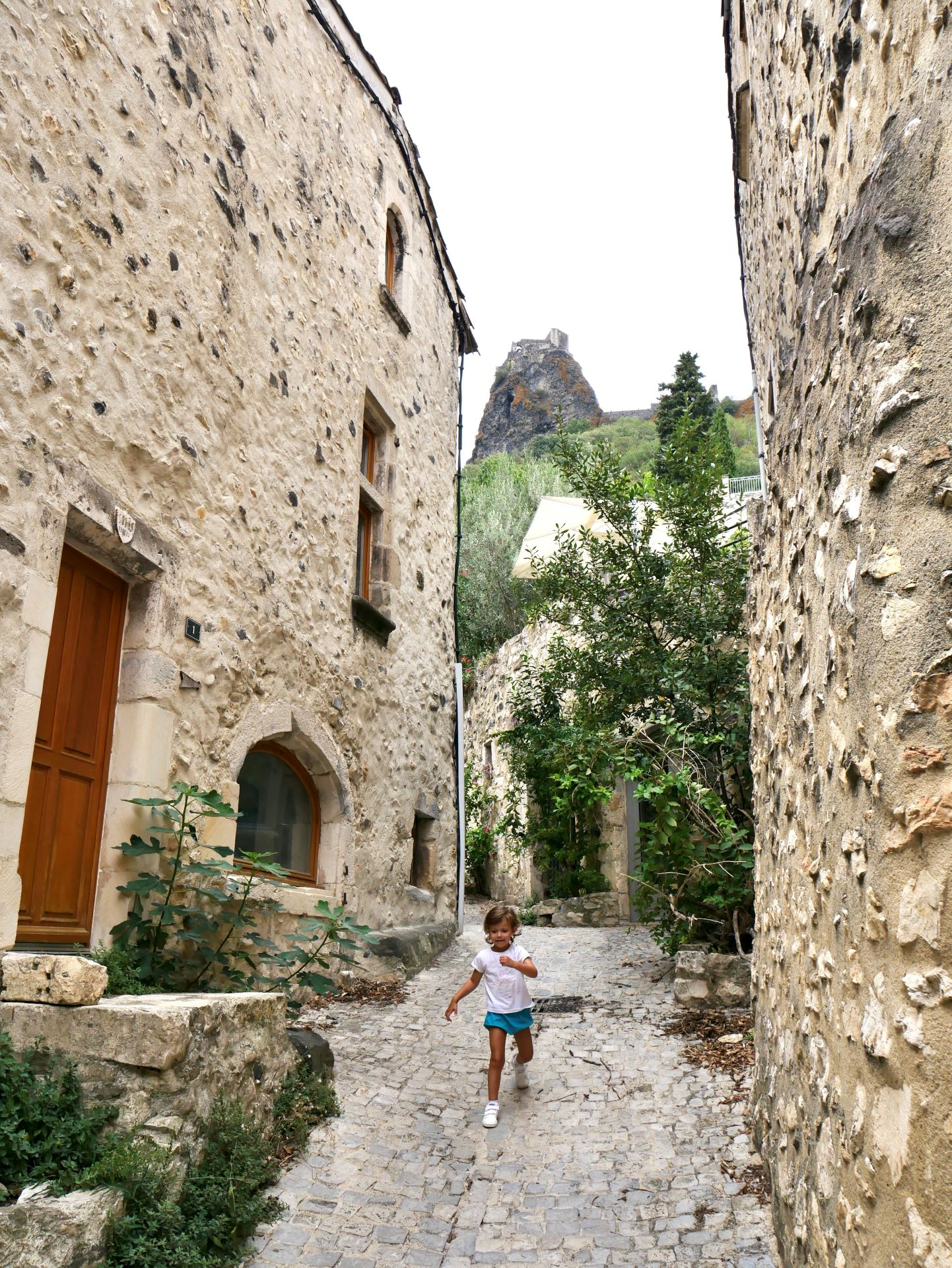 Vélo en Drôme-Ardèche : la Via Rhôna et le village de Rochemaure