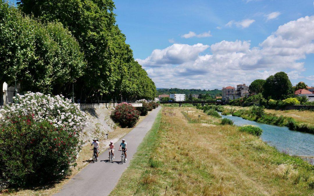 Vélo en famille en Drôme et Ardèche