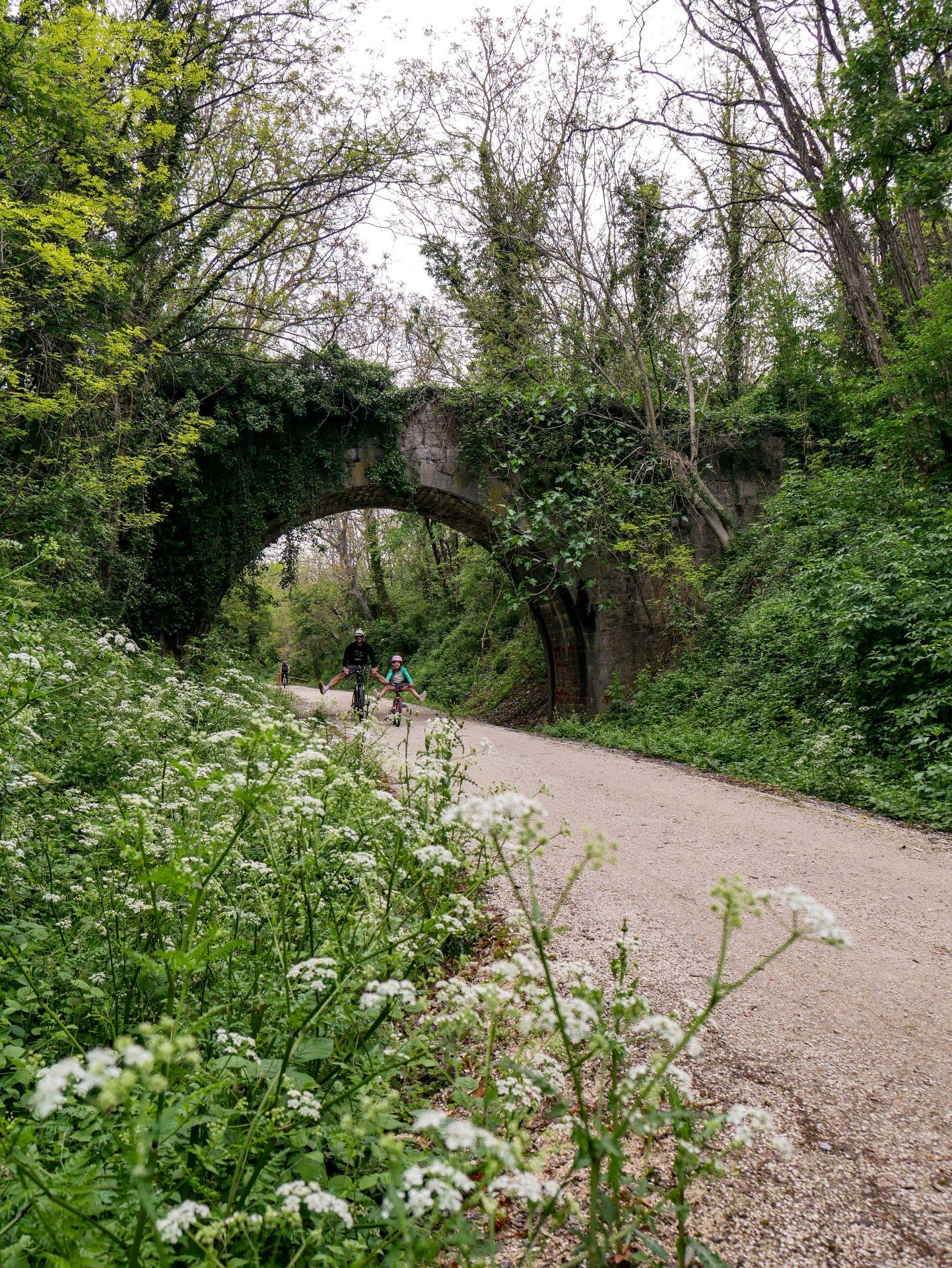 Vélo en Drôme-Ardèche : la Via Ardèche